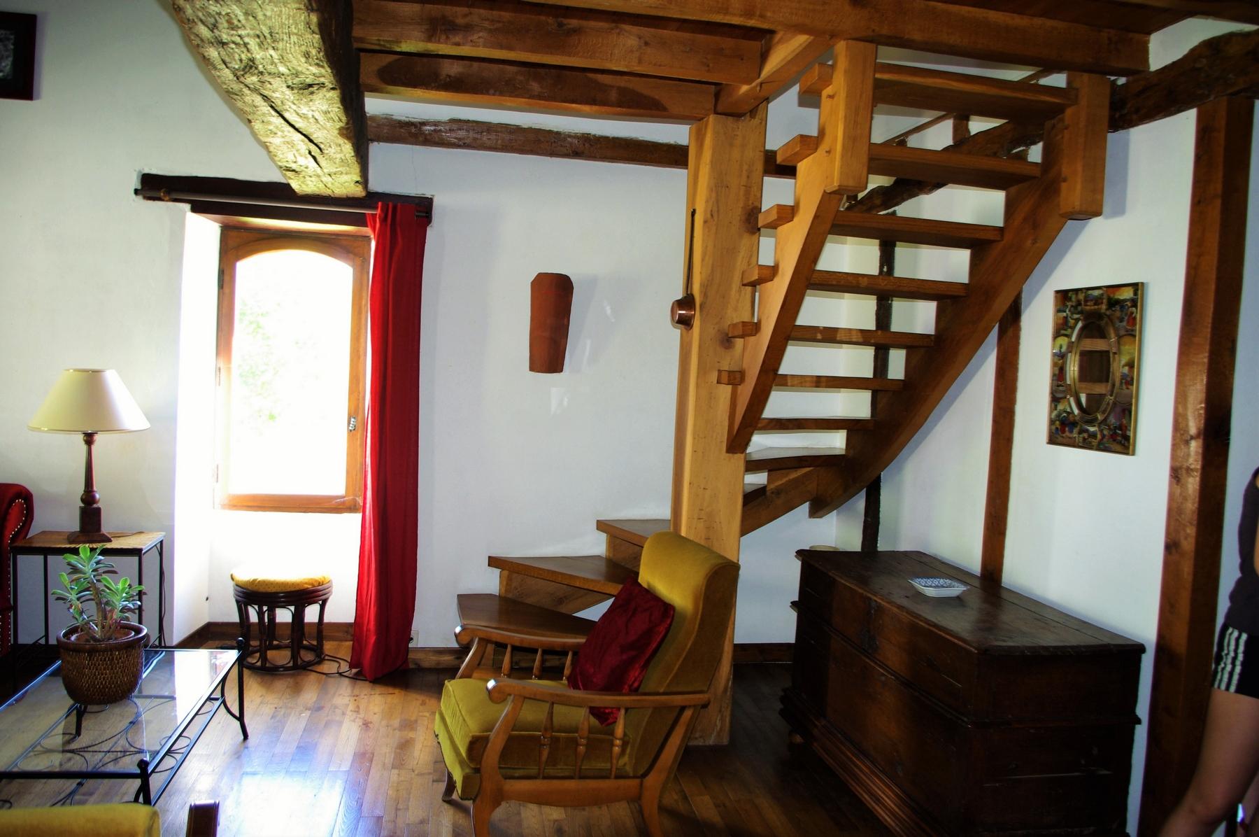 escalier Prune
